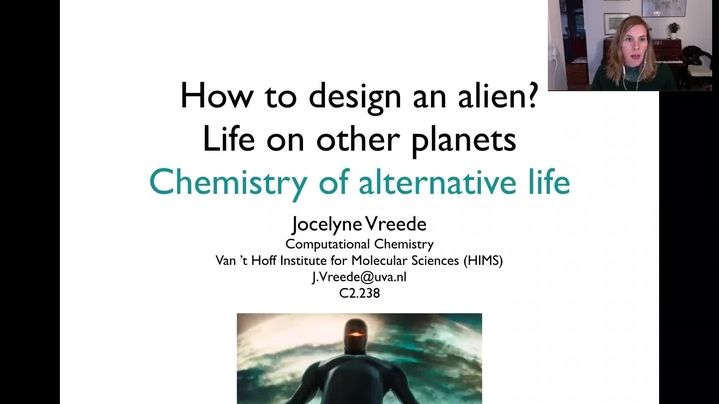 Thumbnail for channel How to design an alien - chemistry lectures JV