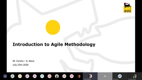 Thumbnail for entry Introduction to Agile Methodology